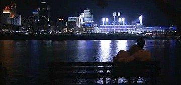 Romantic Cincinnati, Ohio at Night