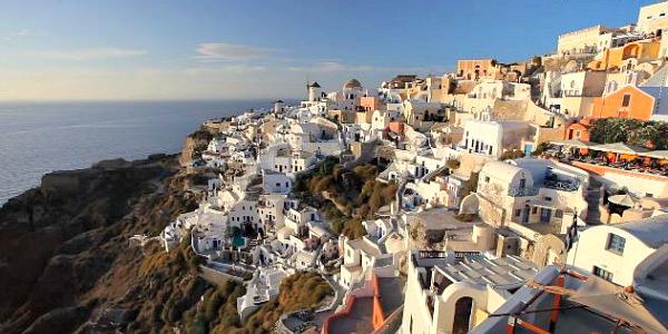 Romantic Santorini, Greece