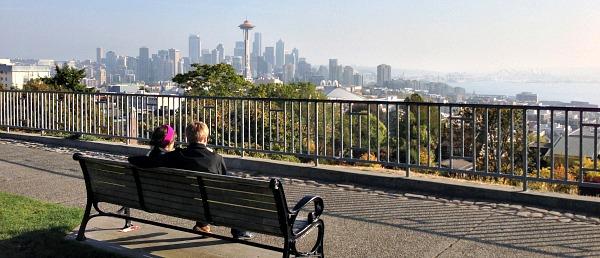 Kerry Park - Romantic Spot in Seattle