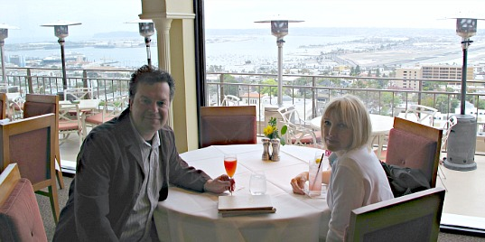 San Diego Romantic Dining - Bertrand at Mr. A's