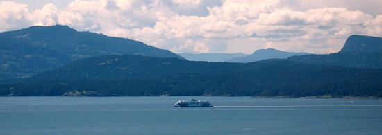 Romantic Ferry Ride from Vancouver to Victoria, BC