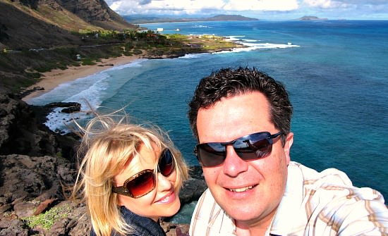 Romantic Spot in Oahu, HI with a Scenic View