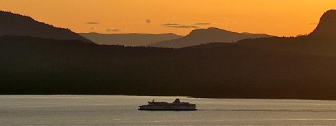 BC Ferry to Victoria BC