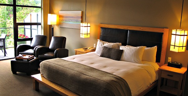 Oceanview Room, Brentwood Bay Resort & Spa, Vancouver Island BC
