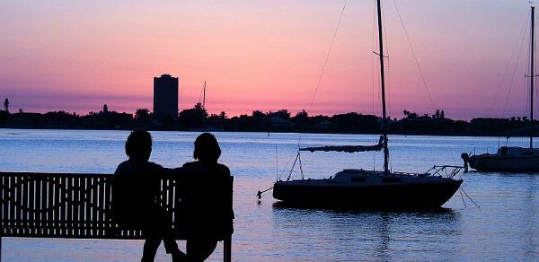 Another Romantic Sunset in Sarasota, FL