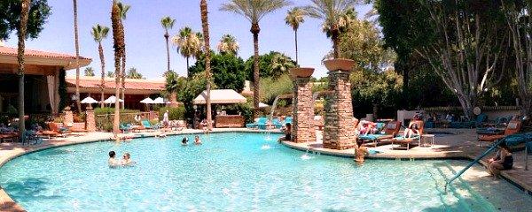 Pool at the FireSky Resort in Scottsdale, AZ