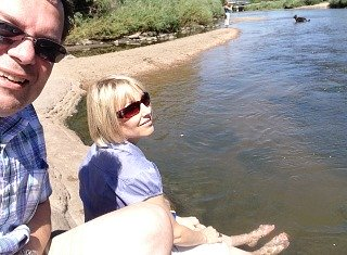 South Platte River in Denver