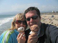 Romantic Santa Monica Pier, CA