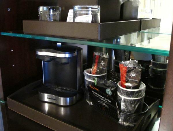 In-Room Coffee Maker