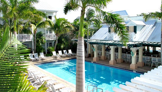 Pool at Southernmost Hotel, Key West FL