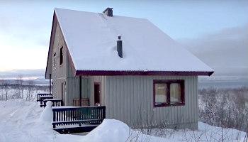 Sweden Northern Lights Cabin