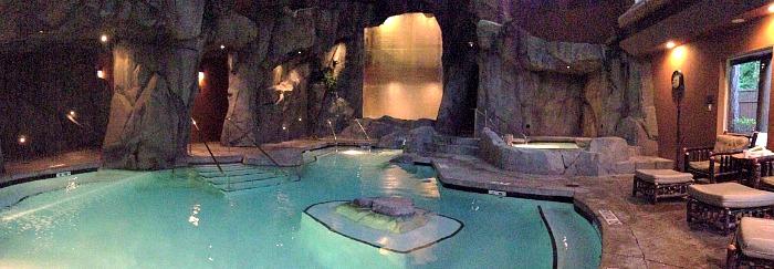 Tigh Na Mara Grotto Spa Pool, Vancouver Island, BC