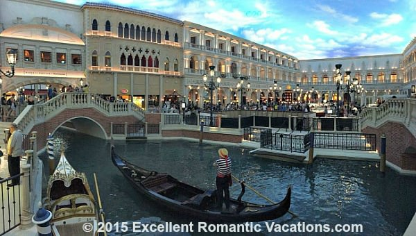 Gondola Ride at the Venetian Hotel, Las Vegas
