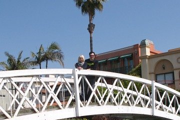 Bridge over Venice Canals, CA