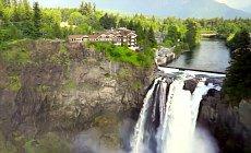Hotel Near Waterfall