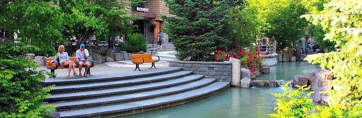 Romantic Spot in Whistler Village